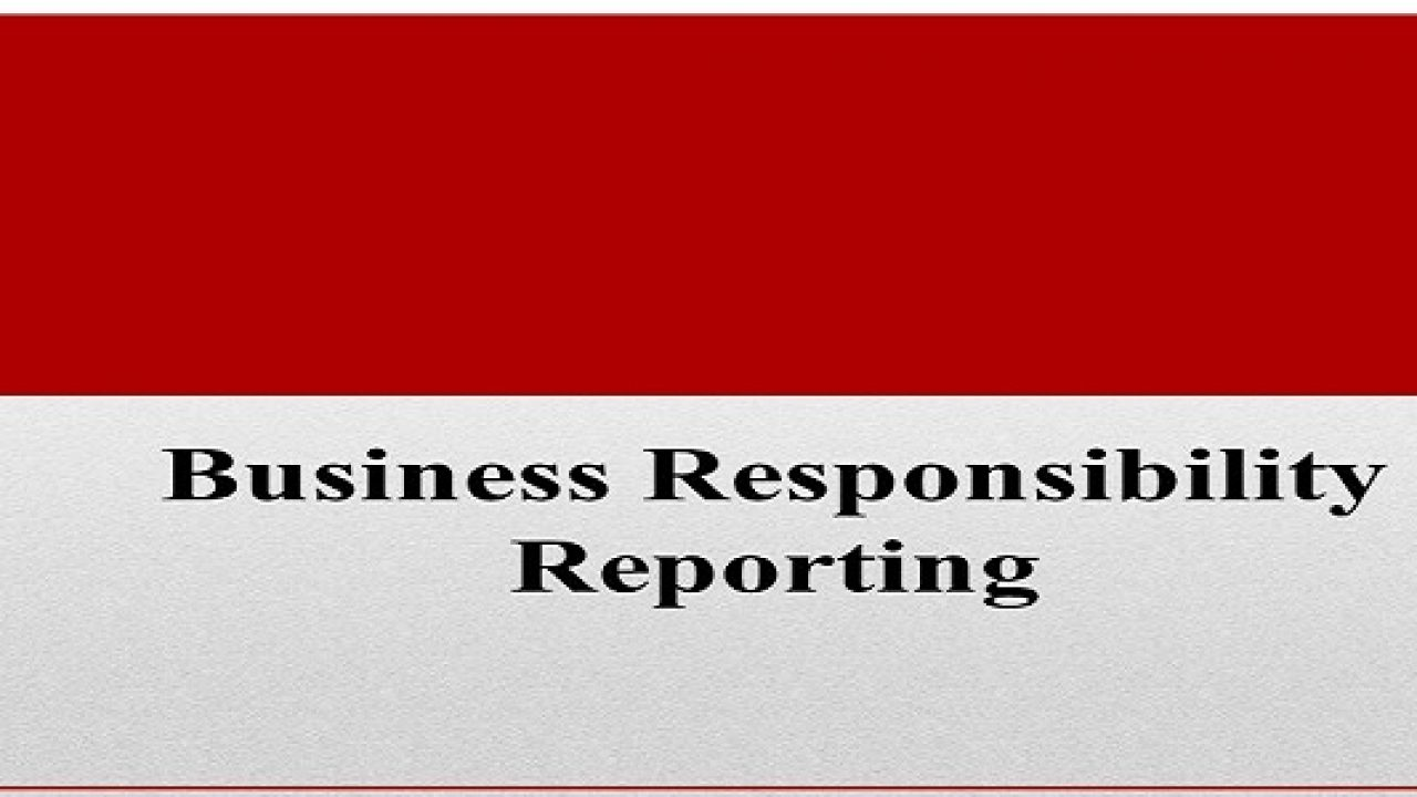 BUSINESS RESPONSIBILITY REPORT.