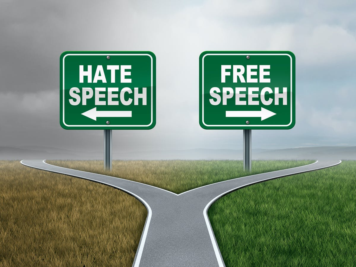 RISKY ASPECTS OF HATE SPEECH LAWS.